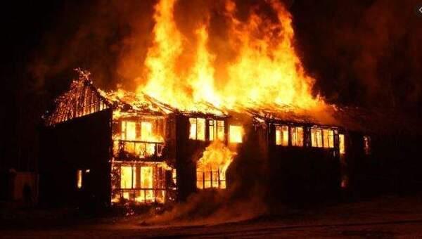 Nằm mơ cháy nhà